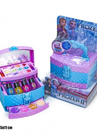 """Детский набор косметики в виде шкатулки """"Frozen"""" холодное сердце"""