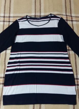 Длинная футболка  52-54 туника трикотажная
