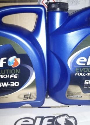 Elf Evolution Full-Tech FE 5W-30 5/1 L