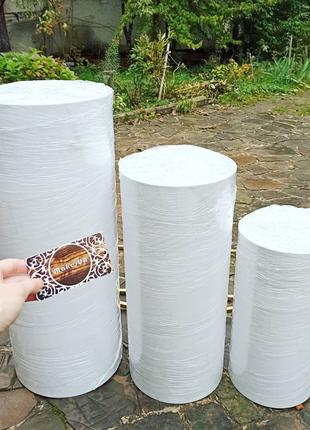 Комплект тубусів тубус тубусы декор для фотозони стіл стол столик