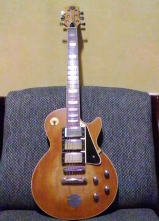 Les Paul в стиле Harley Devidson relic.