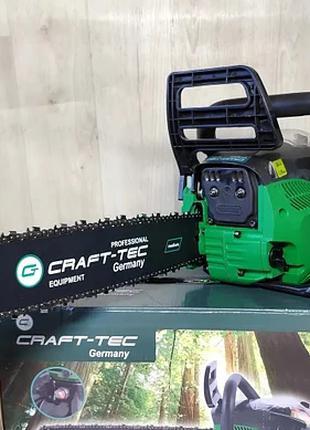 Бензопила Craft-tec CT-5000 NEW 45см, 2 шины,2 цепи Тел0635713772