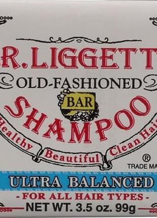 J.r.liggett's твердый шампунь ультра баланс для всех типов вол...