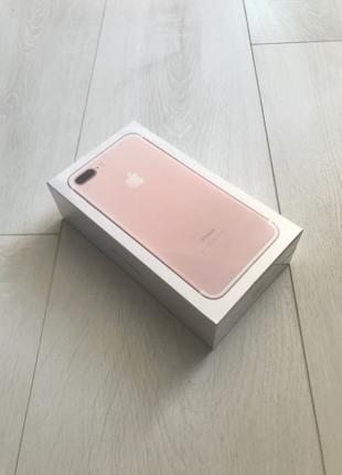 Новый iPhone 7 Plus 128gb Rose Gold Neverlock