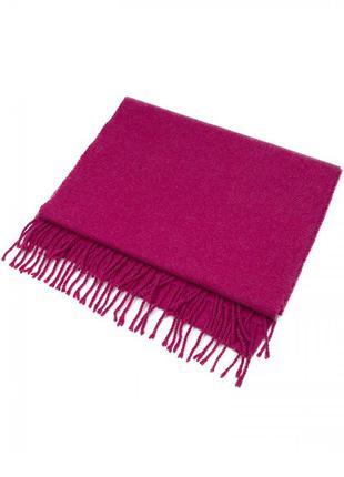 Шикарный шарф из 100% кашемира, цвета фуксия, швейцария!