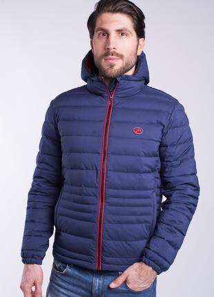 Куртка ветровка мужская синяя Avecs AV-70248 Blue Размеры 46 48