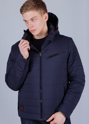 Куртка ветровка синяя Avecs AV-70247 Blue Размеры 46 48