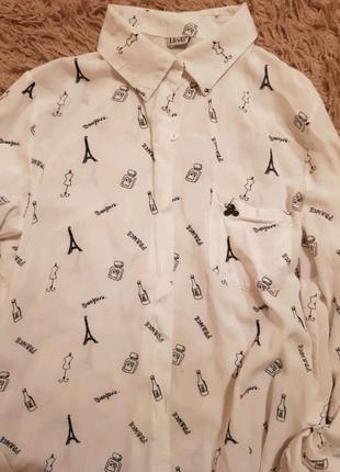 Рубашка для девочки подростка