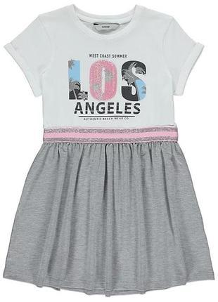 George летнее платье для девочки на 8-9 лет