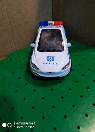 """Машинка """"Тесла полиция"""""""