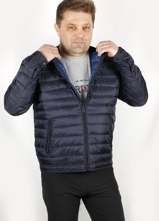 Куртка мужская синяя Straight Up SU Разм M/50 L/52 XL/54