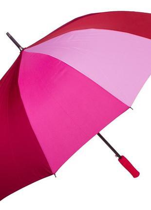 Зонт-трость fare 4584 полуавтомат красный