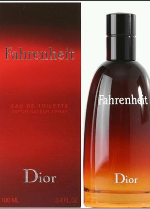 Fahrenheit Dior100 мл Мужской парфюм