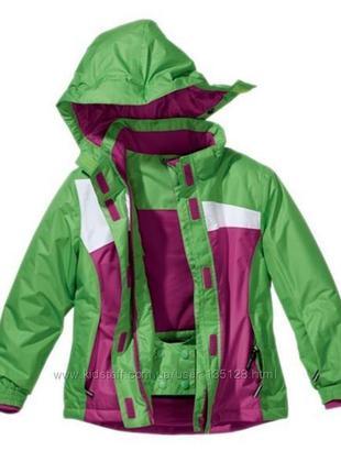 Детская зимняя лыжная куртка немецкого бренда crivit sports