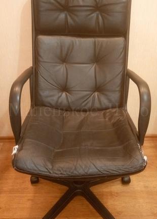 Директорское кожаное кресло Офисное кресло Кресло стул компьютерн