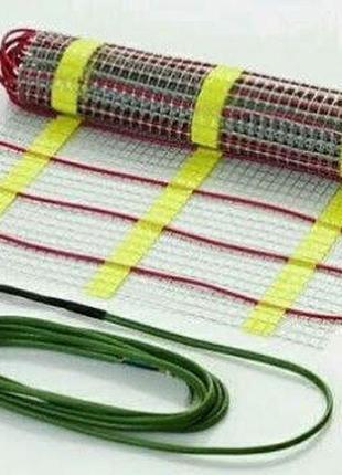 Тепла підлога електрична кабель мат теплый пол