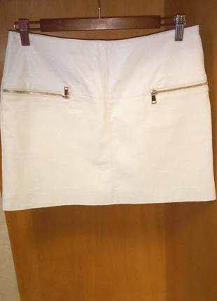 River island юбка мини искусственная кожа 36