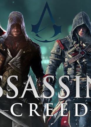 Assassins Creed Origin, 4, Syndicate, Unity PC,ПК, PS3,4 Xbox ...