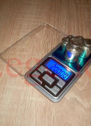 Весы 200gr 0.01g карманные электронные цифровые ювелирные лабор