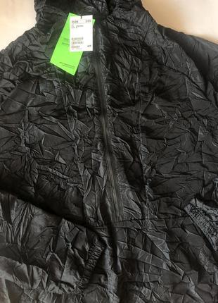 Черная спортивная куртка h&m sport !