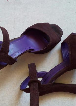 Туфли женские, Босоножки Ronzo на каблуке 39р.