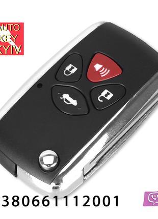 Лучший выкидной ключ Тойота Toyota key Camry 40 Rav
