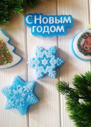 Наборы из мыла новогодние. Подарки сувениры на новый год