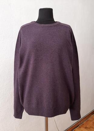 Стильный модный базовый шерстяной свитер большого размера 16