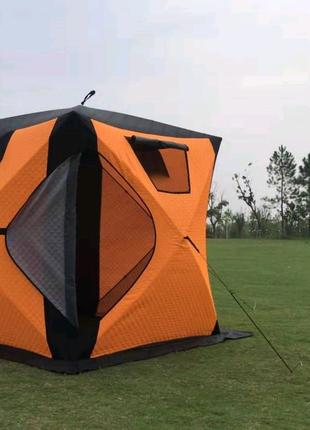 Палатка куб трёхслойная 180×180×205