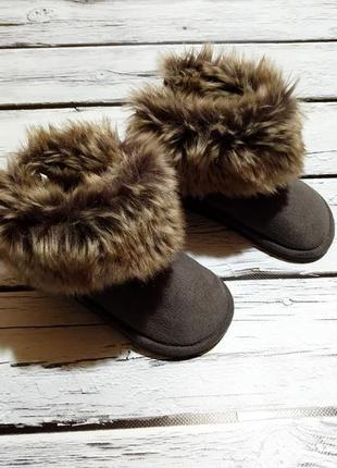 Детские угги сапоги ботинки на девочку зимние на меху