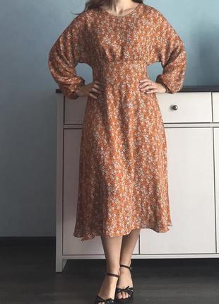 Легкое летнее платье из вискозы