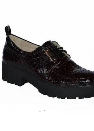 Туфли kornellia натуральная кожа