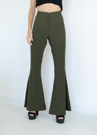 M&s limited edition новые широкие брюки на высокой талии, раск...