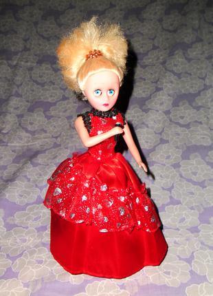 Кукла игрушка заводная, музыкальная