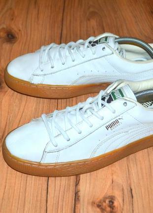 Кроссовки puma basket  - 41 размер оригинал кожа