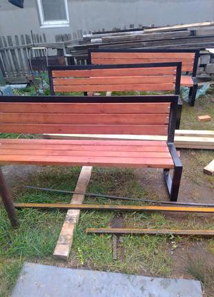 Садовые лавочки, столы, стулья