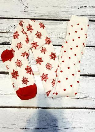 Колготы детские на девочку со снежинками колготки колготи ново...