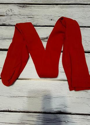Колготы детские на девочку красные колготки колготи хлопковые ...
