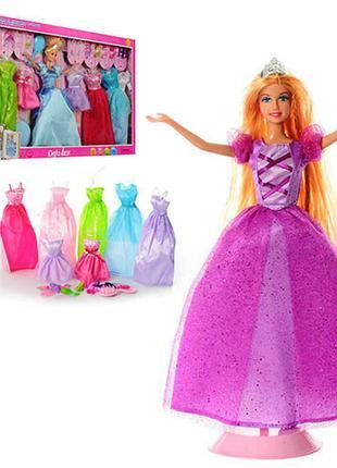 Кукла с нарядами Defa Lucy 8266 29 см, с одеждой