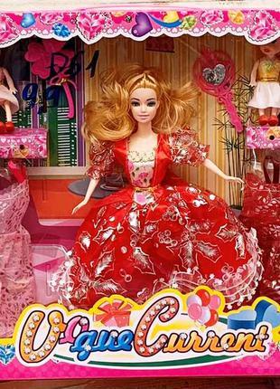 Кукла с нарядом D61, 26 см, две дочки