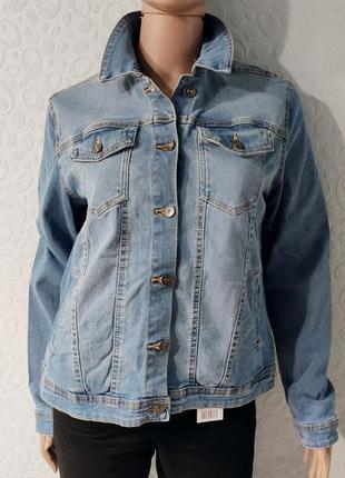 Джинсовая женская куртка, джинсовка