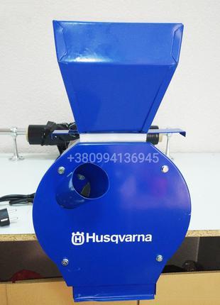 Зернодробилка Husqvarna ДКУ EFS4300(4.3кВт,320кг/ч)зерно+кукуруза