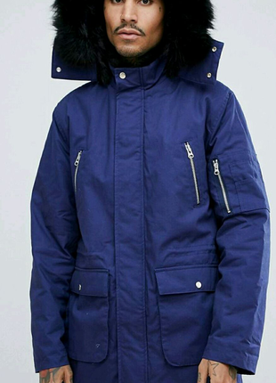 Зимняя куртка парка осеняя asos parka pull&bear nike adidas