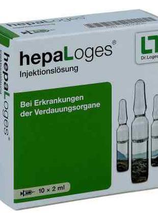 Hepa Loges Injektionslösung Ampulle (10X2 ml)