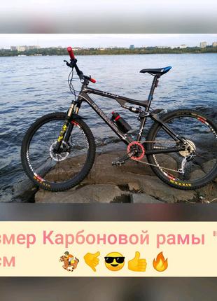 Карбоновый Велосипед, Fox, Rock shox, Deore XT, Formula