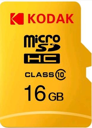 Карта памяти Kodak 16 gb Micro SD Card флешка Карта пам'яті