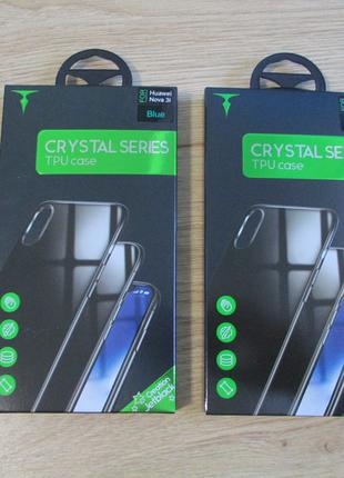 Чехол t-phox для Huawei P Smart Plus + Nova 3i Crystal Series