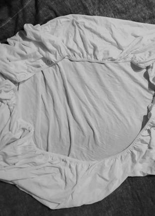 Трикотажная плотная простынь-наматрасник на резинке,tcm, 90/1...