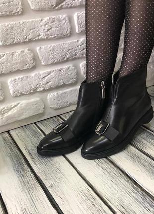 Ботинки демисезонные maria moro,натуральная кожа, осень 2019