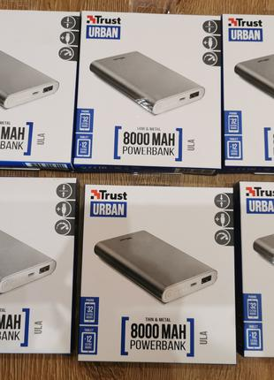 Павербанк, Powerbank TRUST Ula Heavy Metal 8000 mAh